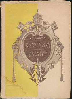 Savonský zajatec obálka knihy