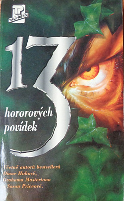 13 hororových povídek obálka knihy