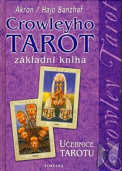 Crowleyho tarot - základní kniha obálka knihy