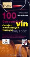 100 červených vín českých a moravských vinařství obálka knihy