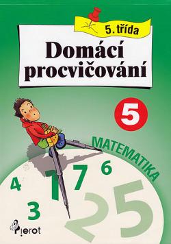 Domácí procvičování pro 5. třídu - matematika obálka knihy