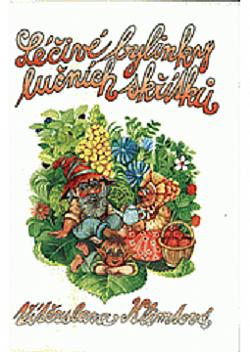 Léčivé bylinky lučních skřítků obálka knihy