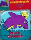 Delfín závodník - kniha do vany