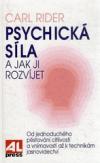 Psychická síla a jak ji rozvíjet obálka knihy