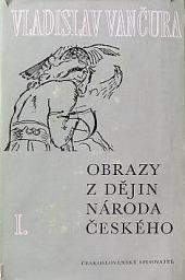 Obrazy z dějin národa českého I. obálka knihy