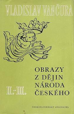 Obrazy z dějin národa českého 2.-3. obálka knihy