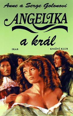 Angelika a král obálka knihy
