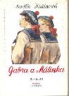 Gabra a Málinka 5. a 6. díl obálka knihy