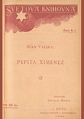 Pepita Ximenez obálka knihy
