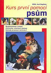 Kurs první pomoci psům obálka knihy