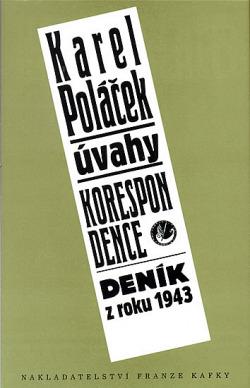 Úvahy / Korespondence / Deník z roku 1943 obálka knihy