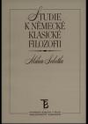 Studie k německé klasické filozofii