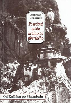 Posvátná místa království tibetského obálka knihy