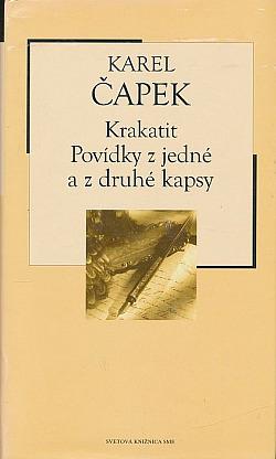 Krakatit / Povídky z jedné a z druhé kapsy obálka knihy