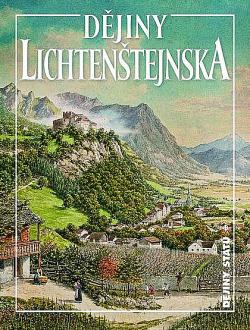 Dějiny Lichtenštejnska obálka knihy