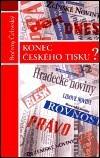 Konec českého tisku? obálka knihy
