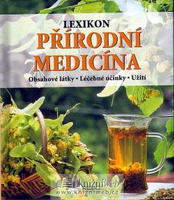 Lexikon - Přírodní medicína obálka knihy