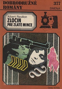 Zločin pre zlaté mince obálka knihy