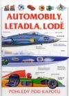 Automobily, letadla a lodě
