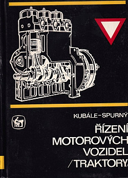 Řízení motorových vozidel - traktory obálka knihy