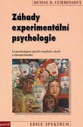 Záhady experimentální psychologie obálka knihy