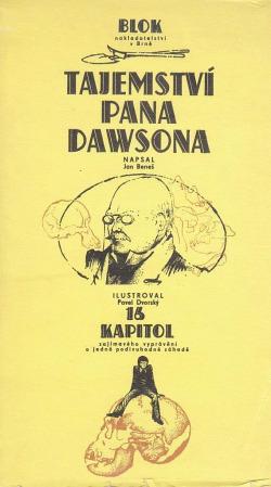 Tajemství pana Dawsona obálka knihy