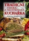 Tradiční česká a slovenská kuchařka obálka knihy