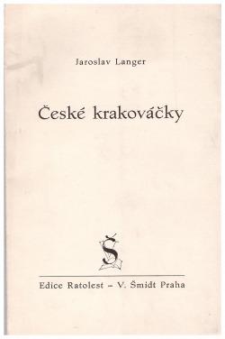 České krakováčky obálka knihy