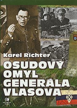 Osudový omyl generála Vlasova obálka knihy