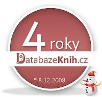 Web DatabazeKnih.cz slaví 4 roky!
