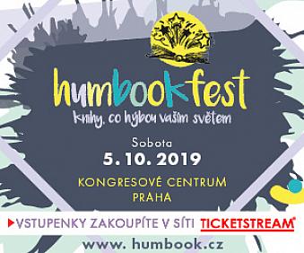 4. ročník Humbookfestu je téměř za dveřmi. A lístky jsou už v prodeji!