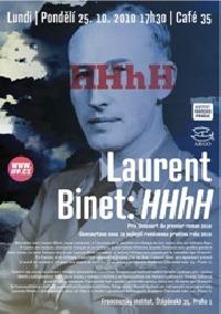 Literární večer s Laurentem Binetem a jeho románem