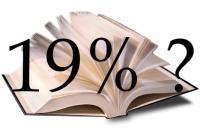 Knihy a chystané 19% DPH