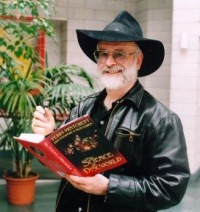 Terry Pratchett v Praze