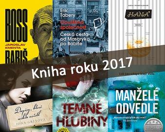 Hlasujte ve finálovém kole Kniha roku 2017