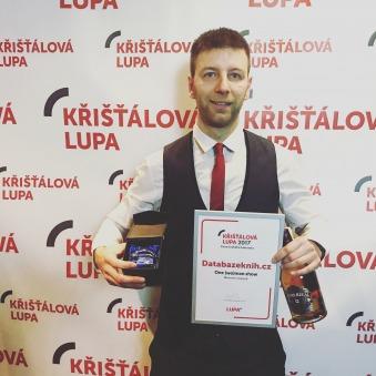 Jak dopadla Databáze knih v anketě Křišťálová Lupa 2017?