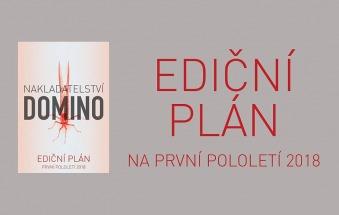 Nakladatelství Domino ediční plán na první pololetí 2018