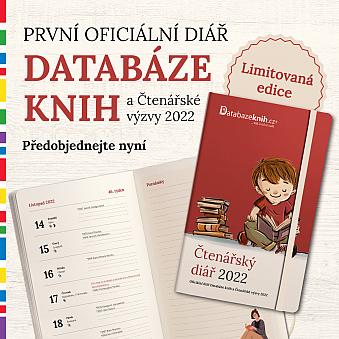 Oficiální diář Databáze knih a Čtenářské výzvy 2022